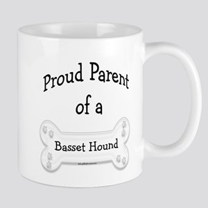 Proud Parent of a Basset Hound Mug