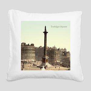 Trafalgar Square Square Canvas Pillow