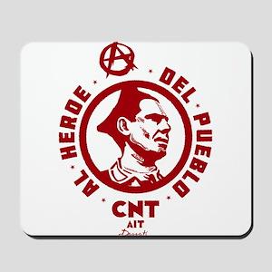 Durruti Anarchism Mousepad