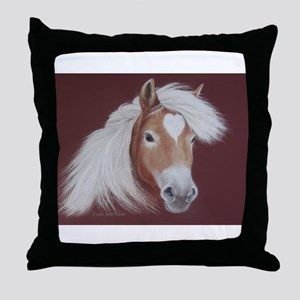 The Love of the Horse Throw Pillow