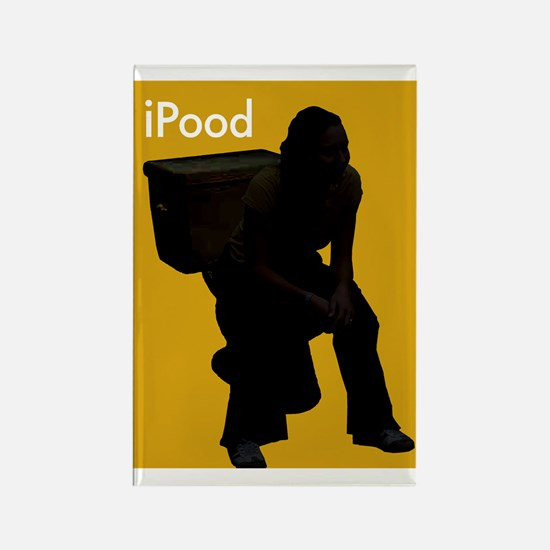 iPOOD - Rectangle Magnet