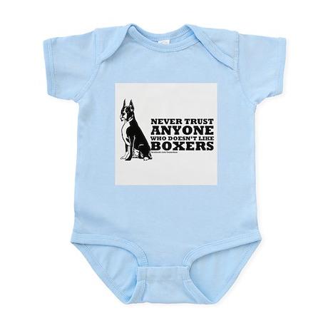 Boxer Fan Infant Bodysuit