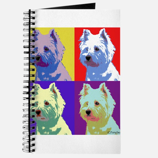 Westie a la Warhol! Journal