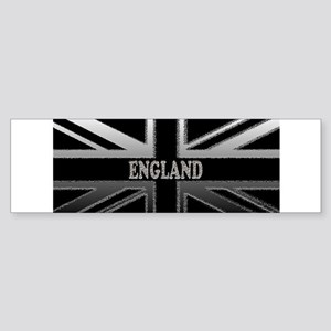 England Union Jack Modern Flag Sticker (Bumper)