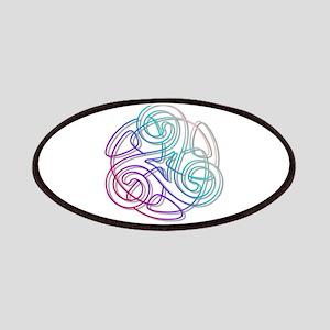 Colorful Triskle Patches