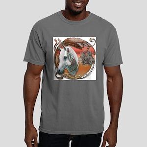 NA-warriorponyCAM-1 Mens Comfort Colors Shirt