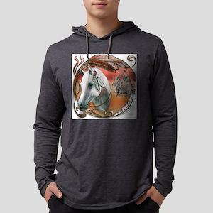 NA-warriorponyCAM-1 Mens Hooded Shirt