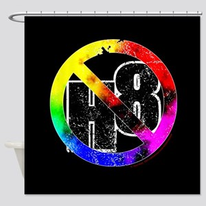 No Hate - < NO H8 >+ Shower Curtain