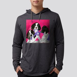 German Shorthair Puppies Mens Hooded Shirt