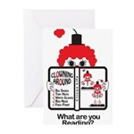 Clowning Around Greeting Cards (Pk of 20)