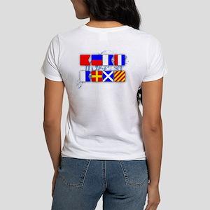 Beat Army Signal Flags Women's T-Shirt