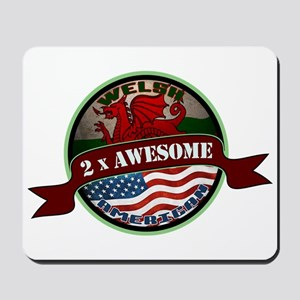 Welsh American 2x Awesome Mousepad