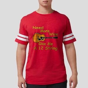 Give Me A 12 String Mens Football Shirt