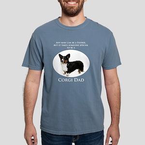 Corgi Dad Mens Comfort Colors Shirt
