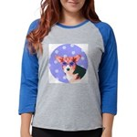 lornament.png Womens Baseball Tee