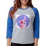 bornament.png Womens Baseball Tee