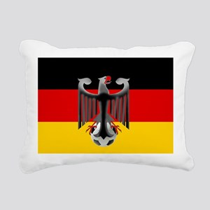 German Soccer Flag Rectangular Canvas Pillow