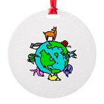 Animal Planet Rescue Round Ornament