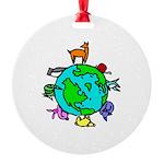 Animal Planet Rescue Round Ornament