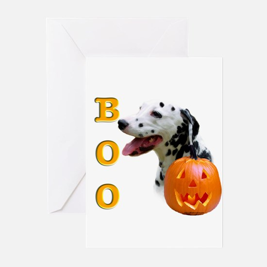 Halloween Dalmatian Boo Greeting Cards (Package of