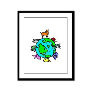 Animal Planet Rescue Framed Panel Print