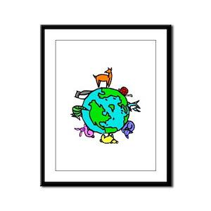 Animal Planet Rescue Framed Panel Print