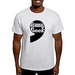 Grammar Geek Comma Light T-Shirt