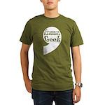 Grammar Geek Comma Organic Men's T-Shirt (dark)