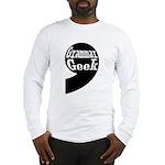 Grammar Geek Comma Long Sleeve T-Shirt