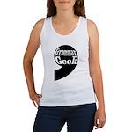 Grammar Geek Comma Women's Tank Top