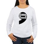 Grammar Geek Comma Women's Long Sleeve T-Shirt