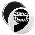 """Grammar Geek Comma 2.25"""" Magnet (10 pack)"""