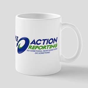 TAKE ACTION REPORTING Mug