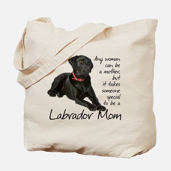 Black Lab Purse Tote Bag