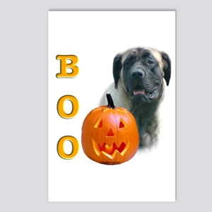 Halloween Fawn Mastiff Boo Postcards (Package of 8