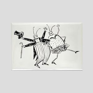 Rectangle Magnet Dance Bug