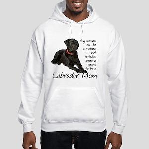 Black Lab Hooded Sweatshirt
