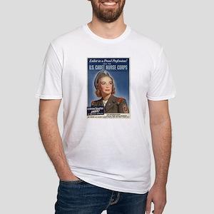 U.S. CADET NURSE CORPS Fitted T-Shirt