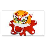 My Dragon Sticker (Rectangle 50 pk)