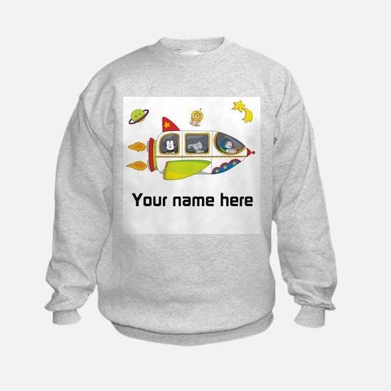 Personalized Space Sweatshirt