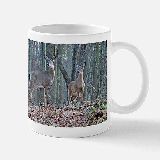 Doe with fawn Mug