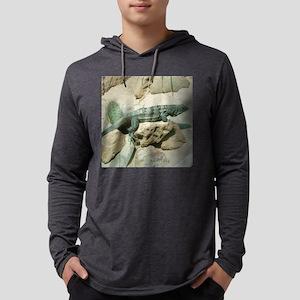 spiny-tailedIguana Mens Hooded Shirt