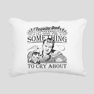 Tequila Dad Rectangular Canvas Pillow