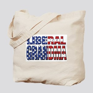 Liberal Grandma Tote Bag