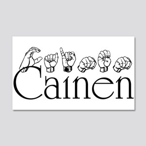 Cainen 20x12 Wall Decal