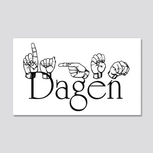 Dagen 20x12 Wall Decal
