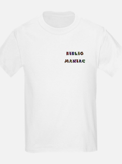 Bibliomaniac<br> Kids T-Shirt