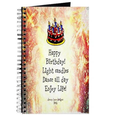 Celebrate Happy Birthday Journal