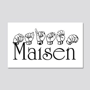 Maisen 20x12 Wall Decal