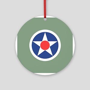 Vintage USA Insignia Ornament (Round)